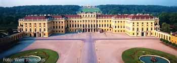 Schönbrunn, the former imperial summer residence