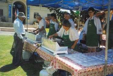 Food at the Lawn Program
