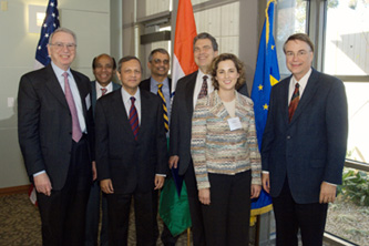 Indian Ambassador Ronen Sen's visit to San Diego